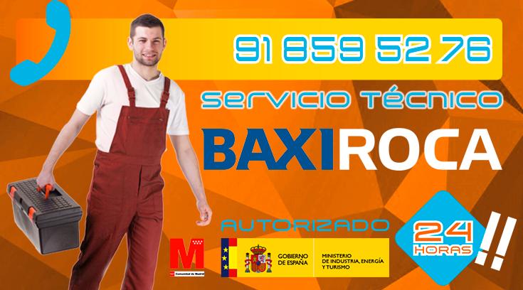 Servicio Tecnico Calderas BaxiRoca Collado Villalba