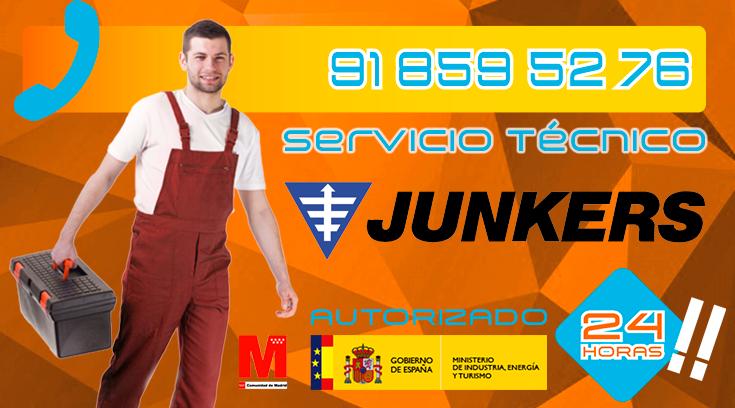 Servicio Tecnico Calderas Junkers Collado Villalba