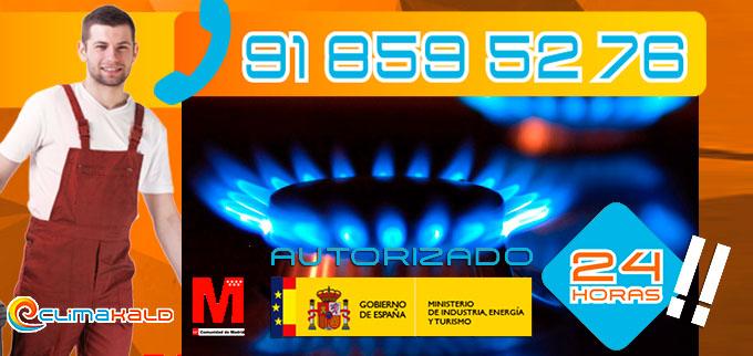 Gas Natural transforma las instalaciones de propano a gas natural en Los Santos de La Humosa y Villalbilla