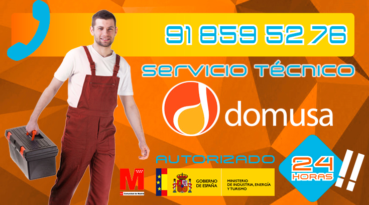 Servicio Tecnico Calderas Domusa Collado Villalba