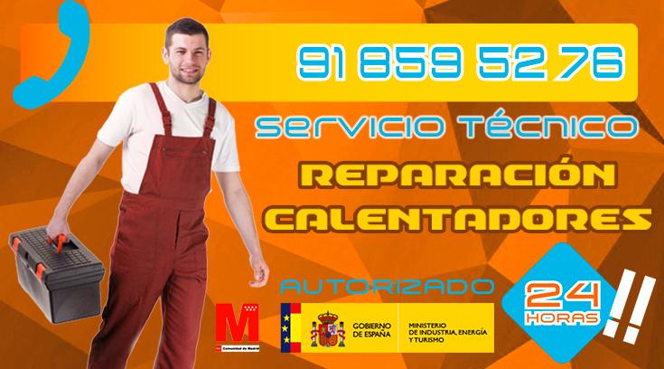 reparación de calentadores en Collado Villalba