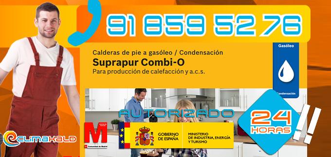 Hacemos la instalación, mantenimiento y limpieza de tu Caldera de gasóleo Junkers Suprapur Combi-O
