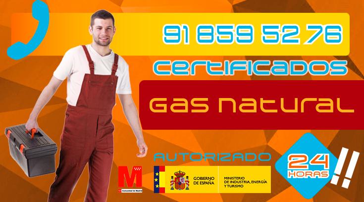 Certificados de gas natural en Collado Villalba
