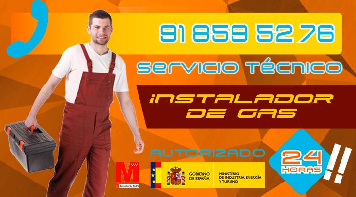 Instalador de gas en Collado Villalba Autorizado