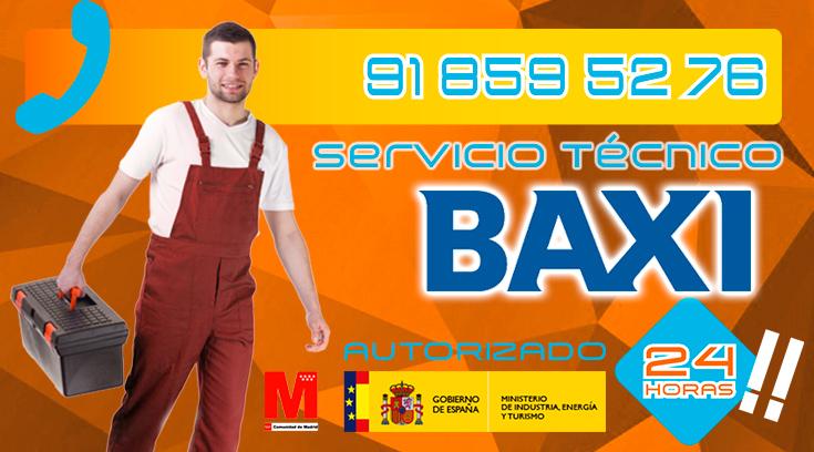 Servicio Técnico Calderas Baxi en Collado Villalba