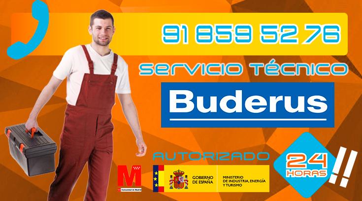 servicio técnico calderas Buderus en Collado Villalba