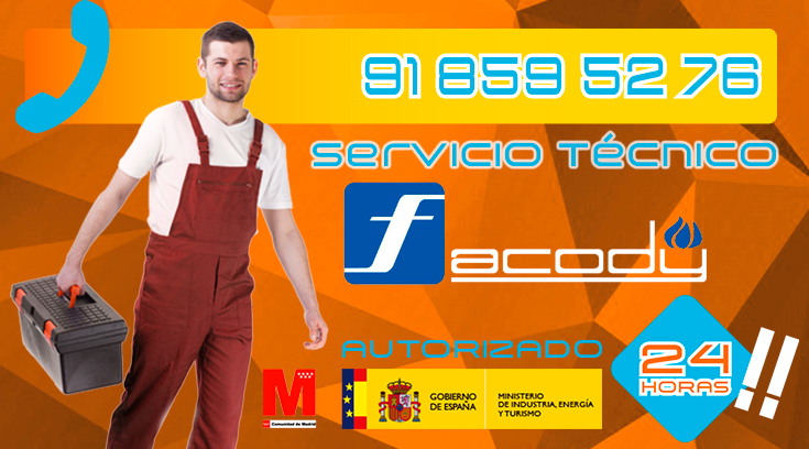 Servicio Técnico Calderas Facody en Collado Villalba
