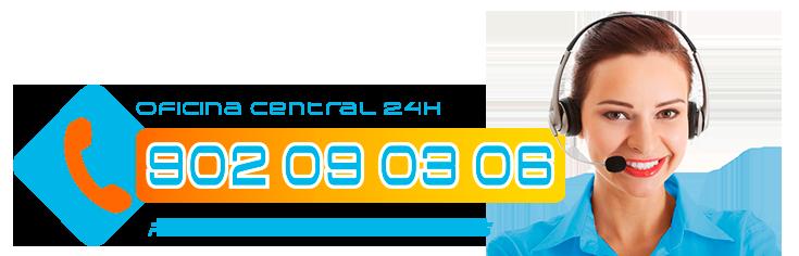 Oficina Central Telefono fugas de gas en Villalba