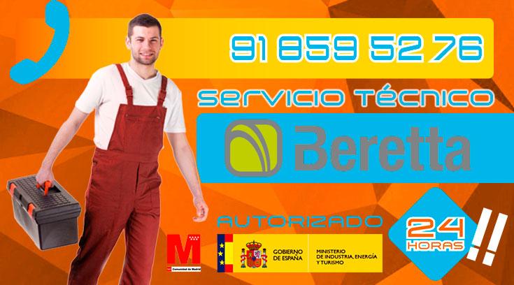 Servicio técnico calderas Beretta en Collado Villalba