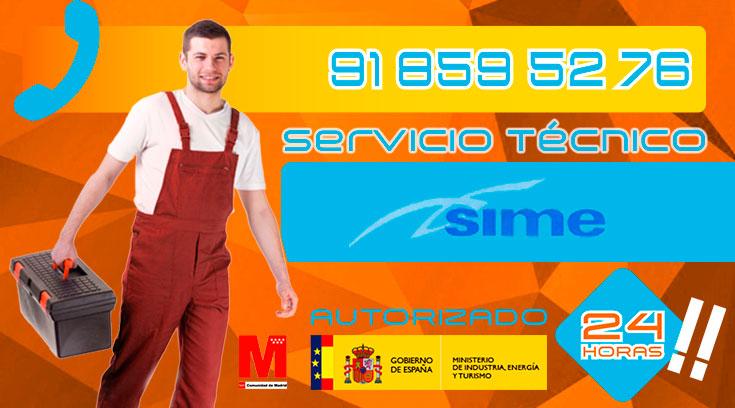Servicio Técnico Calderas Sime en Collado Villalba