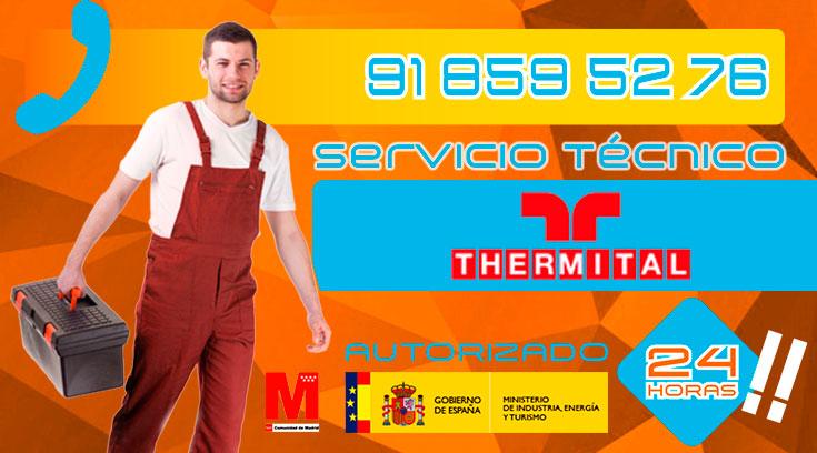 Servicio Técnico Calderas Thermital en Collado Villalba