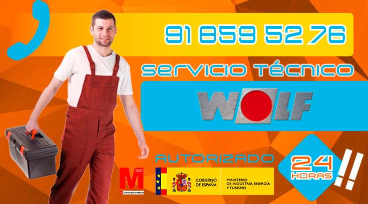 servicio técnico calderas Wolf en Collado Villalba