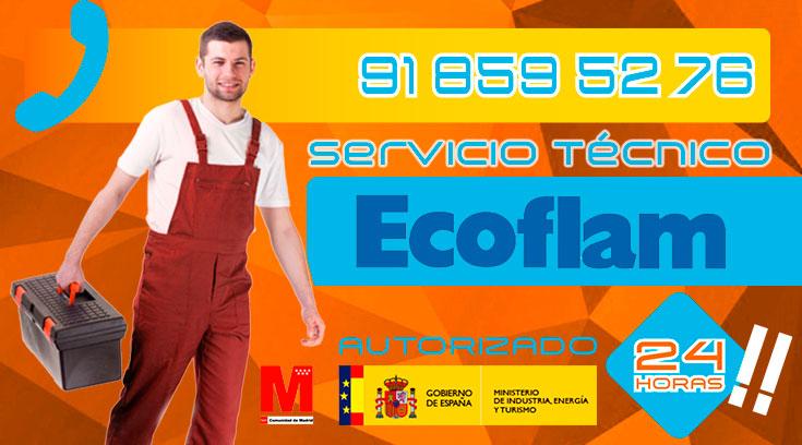 servicio técnico Ecoflam en Collado Villalba