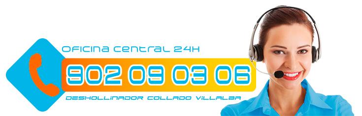 Oficina Central Teléfono limpieza chimeneas en Villalba