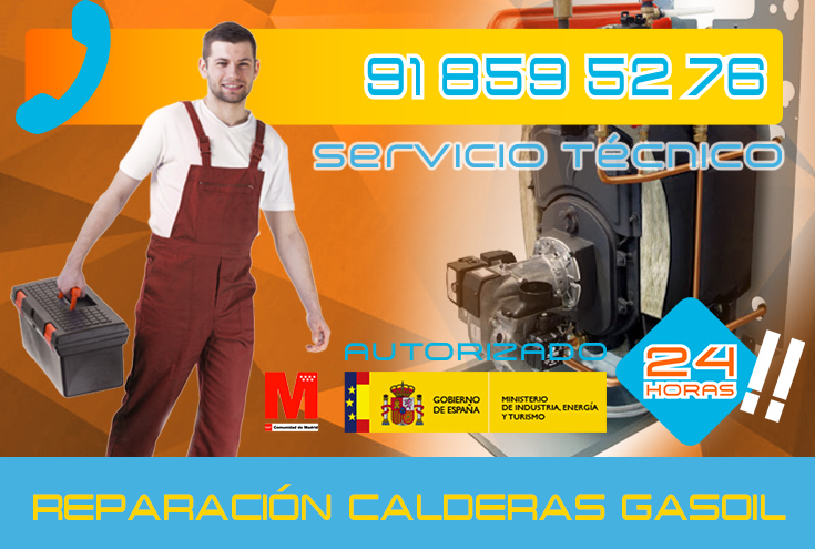Reparación de calderas de gasoil en Collado Villalba