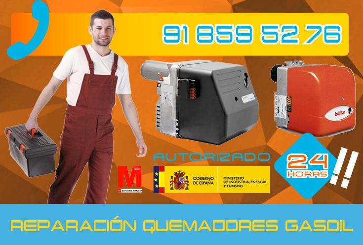 Reparación de Quemadores de gasoil en Collado Villalba